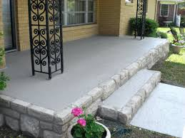 front porch concrete floor ideas