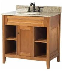 30 Inch Vanity With Drawers Foremost Exhibit 30 Inch Vanity In Rich Cinnamon Maple Finish