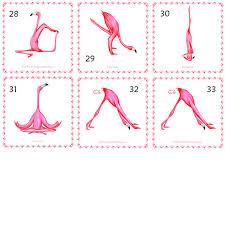 Challenge Que Es Cartel De Flamenco Rosado Que Es Flamingo Yogui Por Amelielegault
