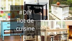 comment fabriquer un ilot de cuisine ilot central a faire soi memehtml cheap ilot central table a faire