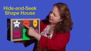 shapehouse finger puppets demonstration hide and seek shape house youtube