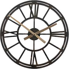 shop allen roth 22 in windsor clock oil rubbed bronze clock at
