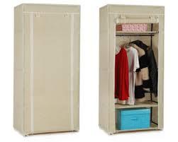 clothes cupboard vonhaus double canvas effect wardrobe clothes cupboard hanging