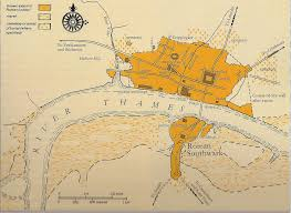 Roman Map Map Of Roman London Maps Pinterest Roman Roman Britain And