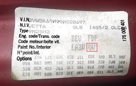 interior trim code guide u2014 seat doctors