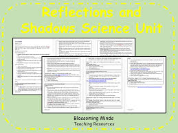 science reflections shadows and sun safety 6 lesson plans by
