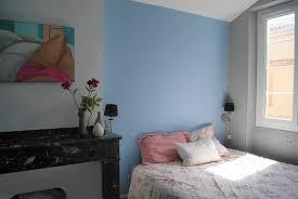 chambre bleu fille idee garcon original coucher ado co et rustique peindre nuit