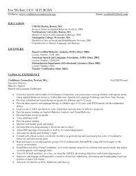 Slpa Resume Slp Cover Letter Docoments Ojazlink
