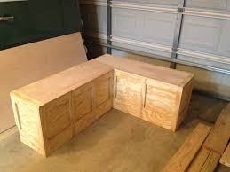 Corner Bench With Storage Custom Corner Bench Box For The Home Pinterest Corner