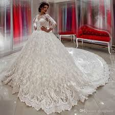 big wedding dresses big 3 meters white lace gown custom made size