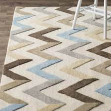 Zig Zag Area Rug Wrought Studio Medina Ivory Grey Chevron Area Rug U0026 Reviews Wayfair