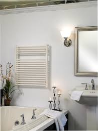 Wrought Iron Bathroom Accessories by Elegant Bathroom With Runtal Radiators Towel Warmer And Black