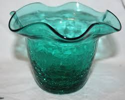decorative glass vases beautiful glass vases crackle glass vases ingrid amber crackle