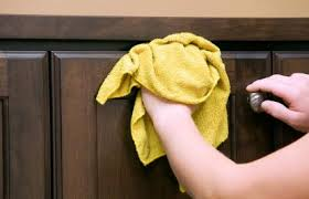 best cleaner for wood kitchen cabinets 4 proven ways to clean sticky wood kitchen cabinets lovetoknow