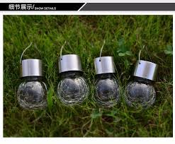 Crackle Globe Solar Lights by Aliexpress Com Buy 3pack Crackle Glass Globe Solar Lights With
