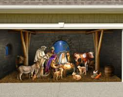 Nativity Outdoor Decorations Outdoor Nativity Etsy