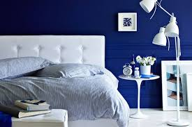 cobalt blue bedroom how to decorate with different shades of blue decorilla