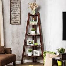 Lyss 5 Tier Corner Ladder by Amazon Com Furniture Of America Andrea 5 Tier Corner Bookshelf