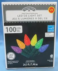 wal mart canada corp recalls time multi colour 100 led c6
