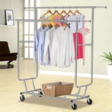 wardrobe racks awesome commercial rolling clothes rack commercial