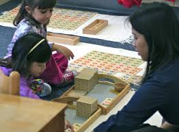 montessori materials and the 3 year cycle of montessori preschool