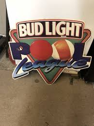 bud light metal sign bud light pool league metal sign collectibles in hton va
