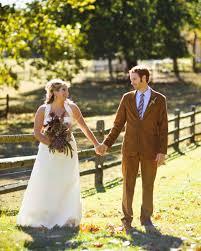 a rustic autumn wedding in a barn in pennsylvania martha stewart