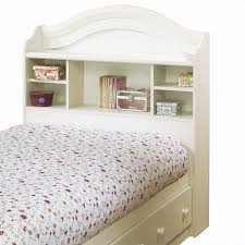 Twin Bed With Storage And Bookcase Headboard by South Shore Summer Breeze Twin Bookcase Headboard And Storage Bed