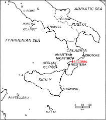 Map Of Puglia Italy by Acconia The Longitudinal Study Of Land Use