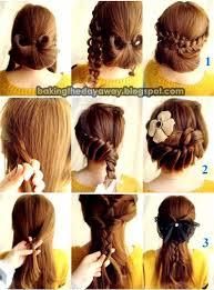 tutorial menata rambut panjang simple cara menata rambut panjang untuk anak sekolah cutes hairstyles