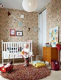 Retro Nursery Decor Colorful And Whimsical Nursery Decorating Ideas Interior Design