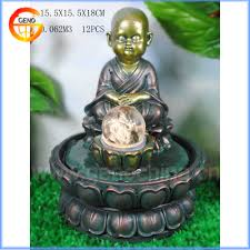 decorative water fountains for home monk water fountain for home decoration monk water fountain for