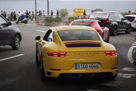 yellow porsche team yellow porsche top marques monaco 2016