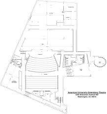 ground plan facilities american university washington d c