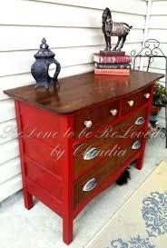 red oak dresser foter