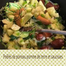recette cuisine sur tf1 midi les id ngélique poêlés de poireau pomme de terre et saucisses