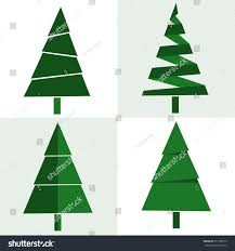 flat christmas tree christmas lights decoration