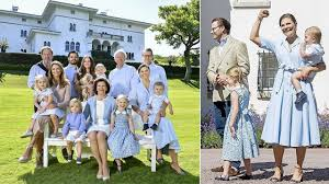 swedish royal family published new photos to send out summer