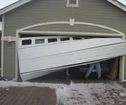 7 ways to fix a dent in a garage door panel