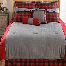 Plaid Bed Set Larissa Plaid Comforter Set Bed Bath Beyond