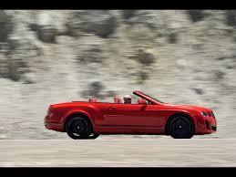 red bentley convertible 2010 bentley continental supersports convertible st james red