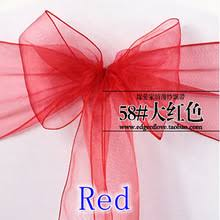 Chair Sashes Wholesale High Quality Organza Chair Sashes Wholesale Buy Cheap Organza
