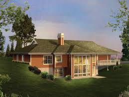 berm house greensaver atrium berm home plan d house plans and more homes golf