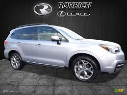subaru forester touring 2017 2017 ice silver metallic subaru forester 2 5i touring 116944538