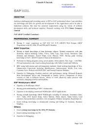 Sap Sd Resume Sample by Sap Fi Resume Pdf Contegri Com