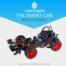 Seeking Robot Smart Car Kit For Arduino Uno R3 Electronic Diy Obstacle Avoiding