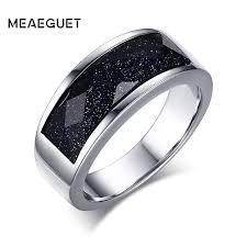 blue wedding rings meaeguet blue gravel wedding rings for men blue sand