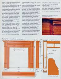fireplace mantels plans u2022 woodarchivist