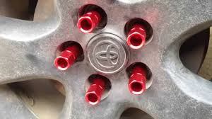 jdm lug nut installation