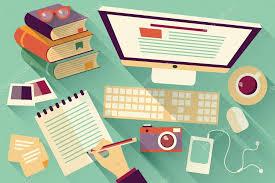 Office Desk Work Flat Design Objects Work Desk Shadow Office Desk Computer